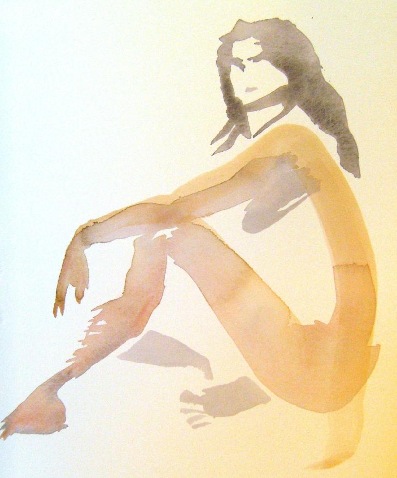 kroki, akvarell 2013 06 15-16 140 färgjusterad o beskuren, målare(painter): Marica Ohlsson